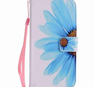 For Google Pixel XL Pixel Case Cover Sunflower Painted Lanyard PU Phone Case