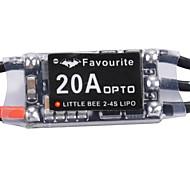 Little Bee Mini 20A 2-4S LiPo Battery OPTO PRO ESC Brushless For QAV250