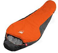Sleeping Bag Mummy Bag Single 10 Hollow Cotton 650g 200X75 Camping Traveling IndoorWaterproof Rain-Proof Windproof Well-ventilated