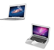 "Metal Wrist Rest Protective Film and Touch Panel Membrane + Protective Clear Screen Guard for 11.6""/13.3"" MacBook Air"