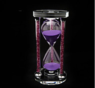 Hourglasses Novelty & Gag Toys Cylindrical Glass Purple 5 to 7 Years 8 to 13 Years 14 Years & Up