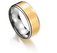 Couple Rings Titanium Steel Fashion Jewelry Party Daily 1pc