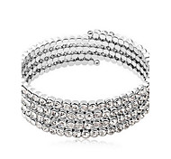 Women's Bangles Tennis Bracelet Fashion Crystal Alloy Jewelry Jewelry For Gift