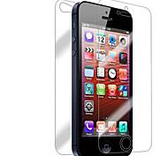 [7-Pack] Frente y parte posterior de la retina Protector de pantalla para iPhone 5/5S