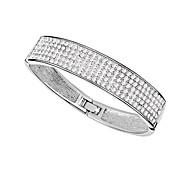 Women's Bangles Crystal Alloy Fashion Personalized Jewelry Jewelry 1pc