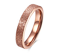 Ring Stainless Steel Titanium Steel Fashion Golden Jewelry Daily Casual 1pc