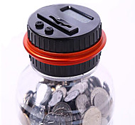 M&R Digital Counting Coin Bank /Batteries Included /Personal Coin Counter/Money Counting Jar