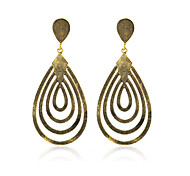 Drop Earrings Jewelry Alloy Gold Jewelry For Daily Casual 1 pair