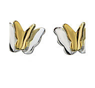 Stud Earrings Sterling Silver Fashion Silver Jewelry Casual 1 pair