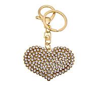 Creative personality love diamond key buckle