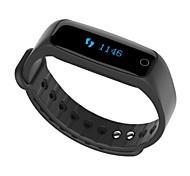 Смарт-браслет Защита от влаги Контроль сообщений Датчик для отслеживания активности Датчик для отслеживания сна Таймер Bluetooth 4.0Нет