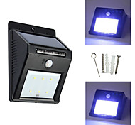 6LED Solar Human Infrared Sensor  Light Energy-Saving Lamps Outdoor Garden Lights Solar Wall Lights