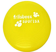 Dog Toy Pet Toys Interactive Flying Disc Durable Plate Blue Yellow Purple Plastic