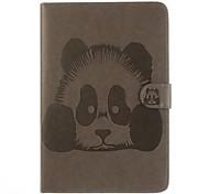 Для Бумажник для карт со стендом Флип Кейс для Чехол Кейс для Мультяшная тематика Твердый Искусственная кожа для Apple iPad Air 2 iPad Air