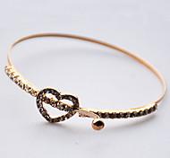 Damen Ketten- & Glieder-Armbänder Modisch Gold Herzform Golden Schmuck Für 1 Stück