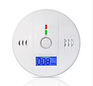 allarme 85db LCD ad alta sensibilità fotoelettrico sensore di gas co indipendente rilevatore di allarme da monossido di carbonio