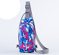 Shoulder Bag Chest Bag for Camping & Hiking Traveling Cycling/Bike Running Jogging Sports BagWaterproof Waterproof Zipper Moistureproof