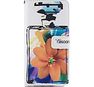For Apple iphone7 iphone7 Plus iphone6s iphone6s Plus iphone6 iphone6 Plus The Perfume Bottles Flower Pattern PU Leather Case