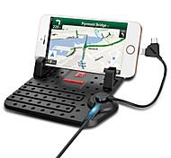 универсальный автомобиль держатель телефона регулируемый кронштейн разъем магнитный держатель мобильного телефона зарядки монтирует для
