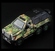 Military Vehicle Pull Back Vehicles Car Toys 1:10 Metal Green Model & Building Toy