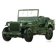 Militärfahrzeuge Spielzeuge Auto Spielzeug 1:18 Metall ABS Plastik Grün Model & Building Toy