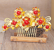 Spring Festival Classic/Traditional Lolita Headwear Vintage Inspired Golden Lolita Accessories 1pc