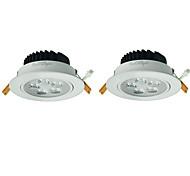 youoklight 2pcs 5w 5xleds 3000k 450lm lámpara de techo blanco cálido (100-240V)