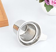 1Pcs  Stainless Steel Mesh Tea Infuser Reusable Strainer Loose Tea Leaf Spice Filter