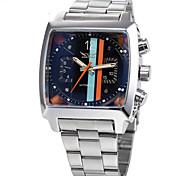 Men's Women's Unisex Sport Watch Dress Watch Fashion Watch Wrist watch Mechanical Watch Automatic self-winding Calendar Alloy BandCharm