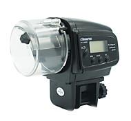 peces de acuario alimentador automático de 30-80g alimentador ajustable 2 pilas AAA *