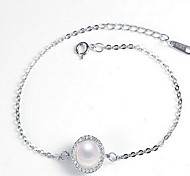 Chain Bracelet  Imitation Pearl Others Fashion Gift Jewelry Gift Silver1pc