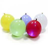 5Pcs LED Balloons  Latex Multicolor Lights Christmas Halloween Decoration Wedding Party Festival Supplies Happy Birthday