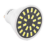 YWXLight® High Bright 5W GU10 LED Spotlight 24 SMD 5733 400-500 lm Warm White / Cool White AC 110V/ AC 220V