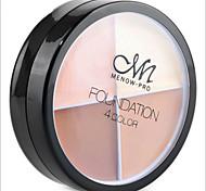 4 Pro Face Concealer Primer Cream Contour Palette Kit Make Up Cover Facial Contouring Makeup Palettes Corrector Base Foundation