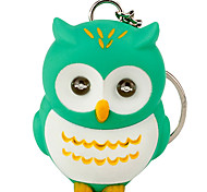Keychain Jewelry Unique Design Unisex Cool Casual Assorted Colored Adorable Owl LED Cute Wallet Accessories