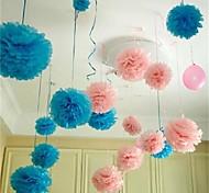 10шт 25см * 25см дешевые бумаги цветочные шары для домашнего свадебные украшения партии автомобилей ремесел