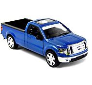 Vehículo de granja Vehículos de tracción trasera Juguetes de coches 1:10 Metal Azul Modelismo y Construcción