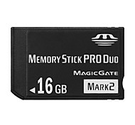 16GB High Speed Black MS Memory Stick Pro Duo Card Storage for Sony PSP 1000/2000/3000 Game Console