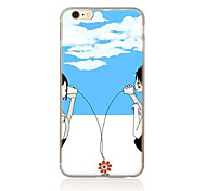 For Pattern Case Back Cover Case Other Soft TPU for Apple iPhone 7 Plus iPhone 7 iPhone 6s Plus/6 Plus iPhone 6s/6 iPhone SE/5s/5 iPhone