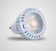 7W GU10 Focos LED MR16 1 COB 520 lm Blanco Cálido AC 110-130 V 1 pieza