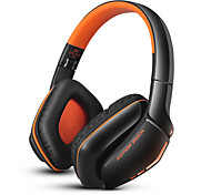 B3506 Foldable Bluetooth Sport Headset Wireless gaming headphone with Microphone for iPhone PS4 PC Computers Laptops(Orange)