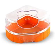 Rodents Bowls & Water Bottles Plastic Brown Orange