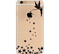 Назначение iPhone X iPhone 8 iPhone 7 iPhone 7 Plus iPhone 6 Чехлы панели Ультратонкий С узором Задняя крышка Кейс для Соблазнительная