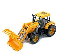 Construction Vehicles Pull Back Vehicles 1:25 Metal Plastic Yellow