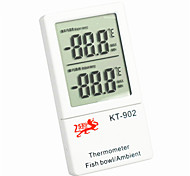 Aquarium Thermometers Water/Indoor Temperature Double Display