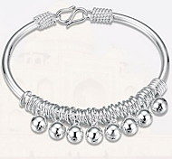 Bracelet Bangles Sterling Silver Others Natural Gift Jewelry Gift Silver1pc