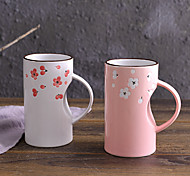 Colored Drinkware, 450 ml Decoration Ceramic Coffee Milk Tea Cup