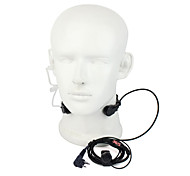 M Stretchable Throat Vibration Earphone with Mic for GP3688 GP88 TC500S and Others with The Same Port with A Earbud