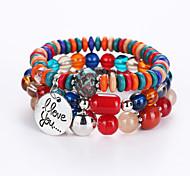 Women's Diamond Bracelet European And American Fashion And Lovely Bracelet Multilayer Hand String