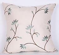 Polyester Pillow Cover , Floral Euro